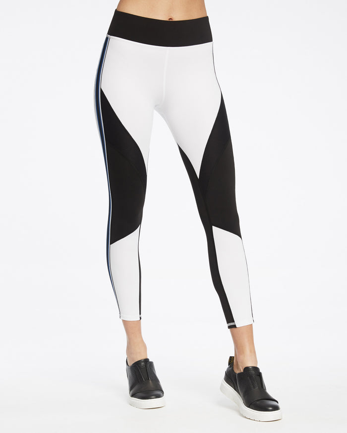 Detour Legging - White/Black
