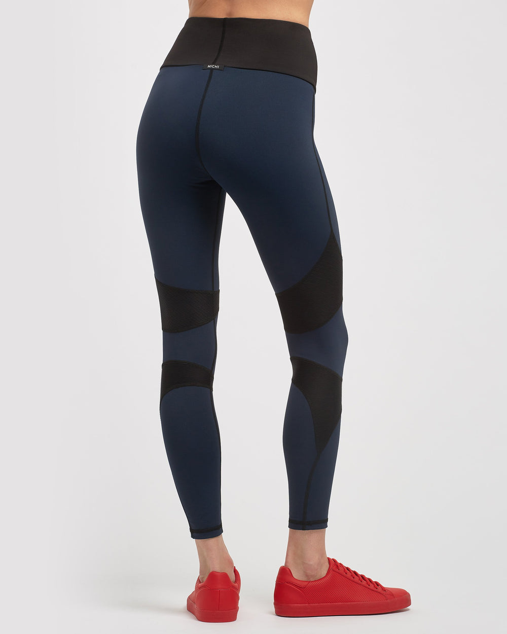Drift High Waisted Legging - Deep Sea Navy