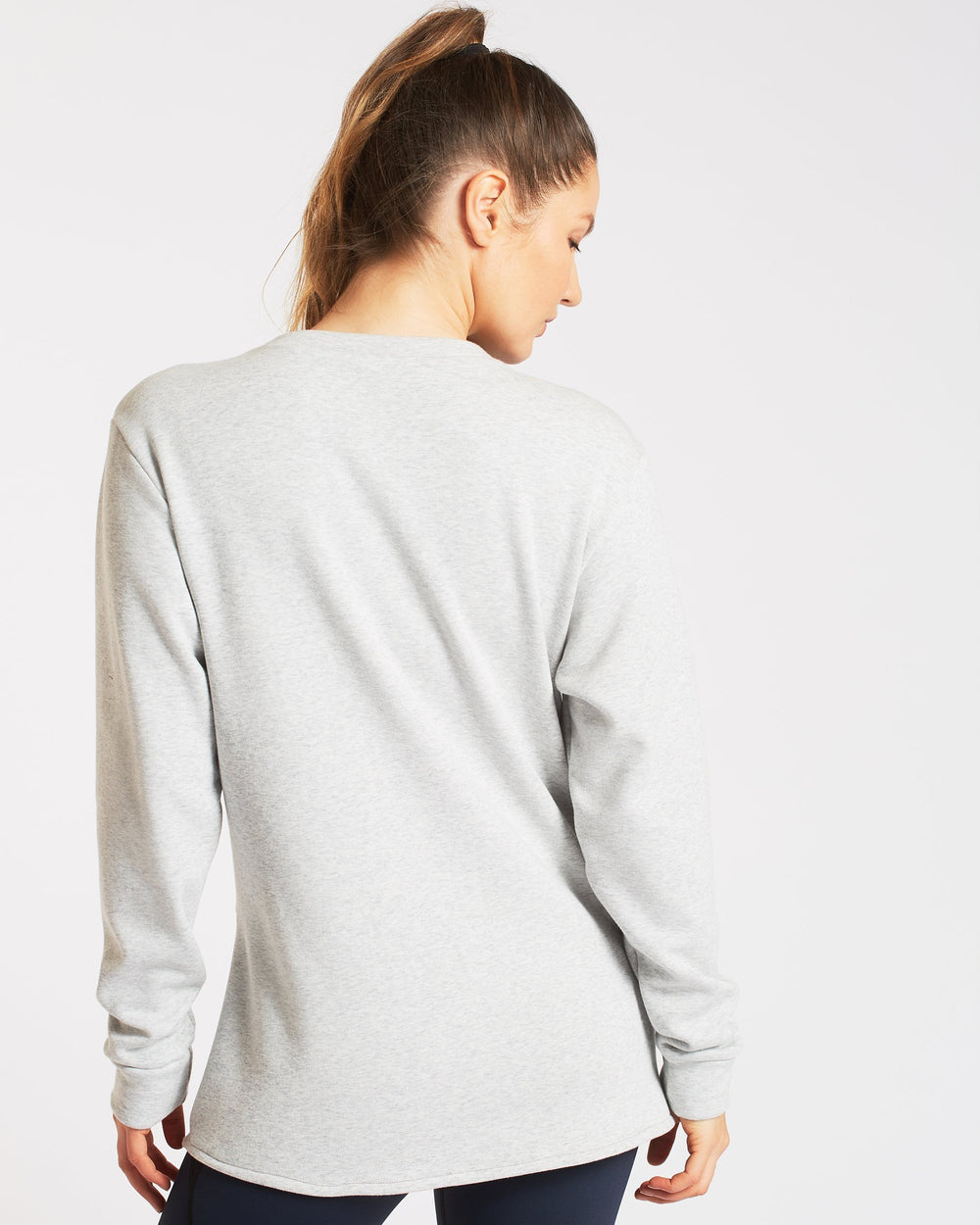 Farfalla Sweatshirt - Light Heather Grey