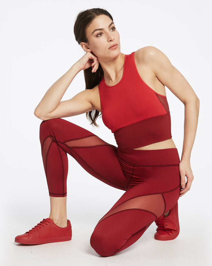 Inversion Legging - Earth Red