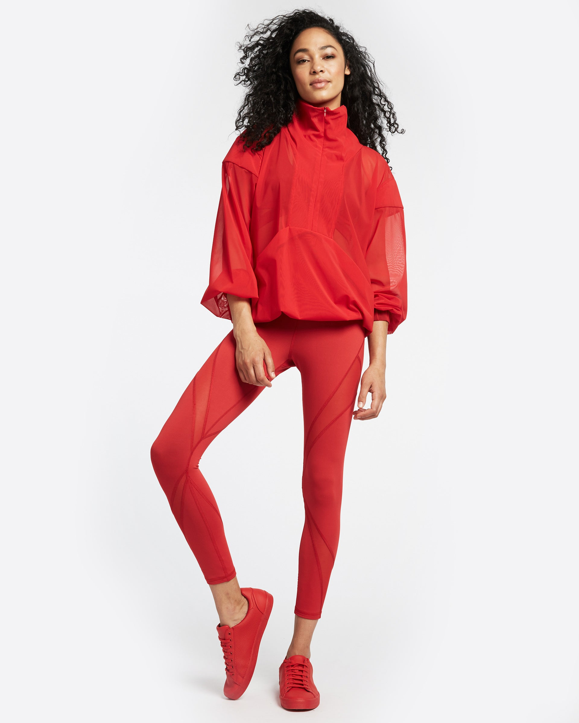 Inversion Legging - Fire Red