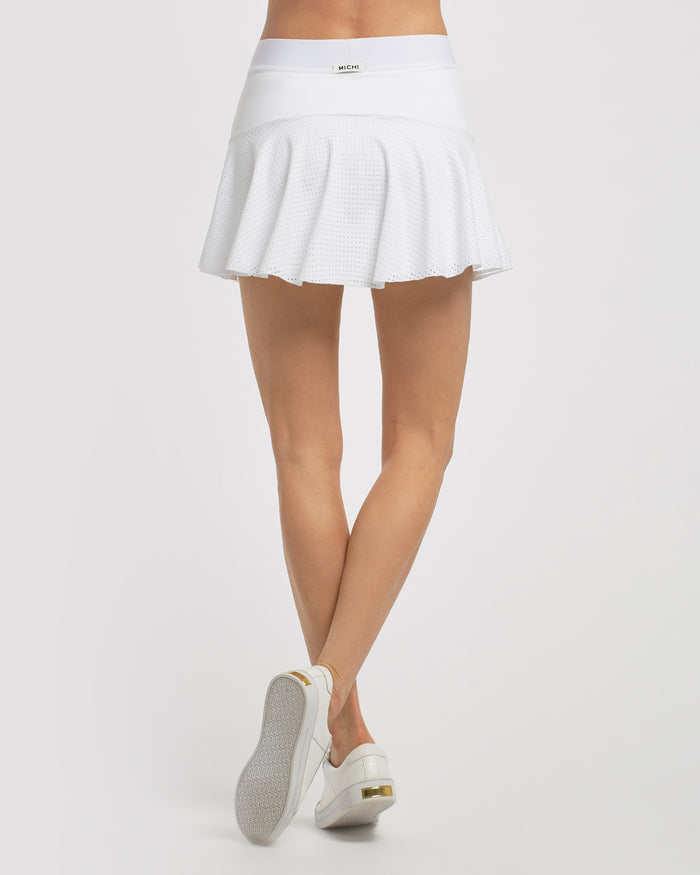 King Skirt - White