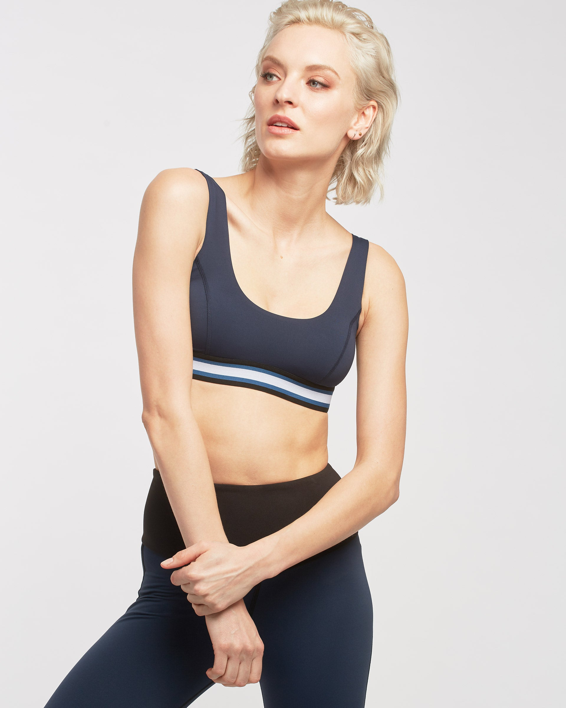 Principal Bra - Deep Sea Navy/Stripe