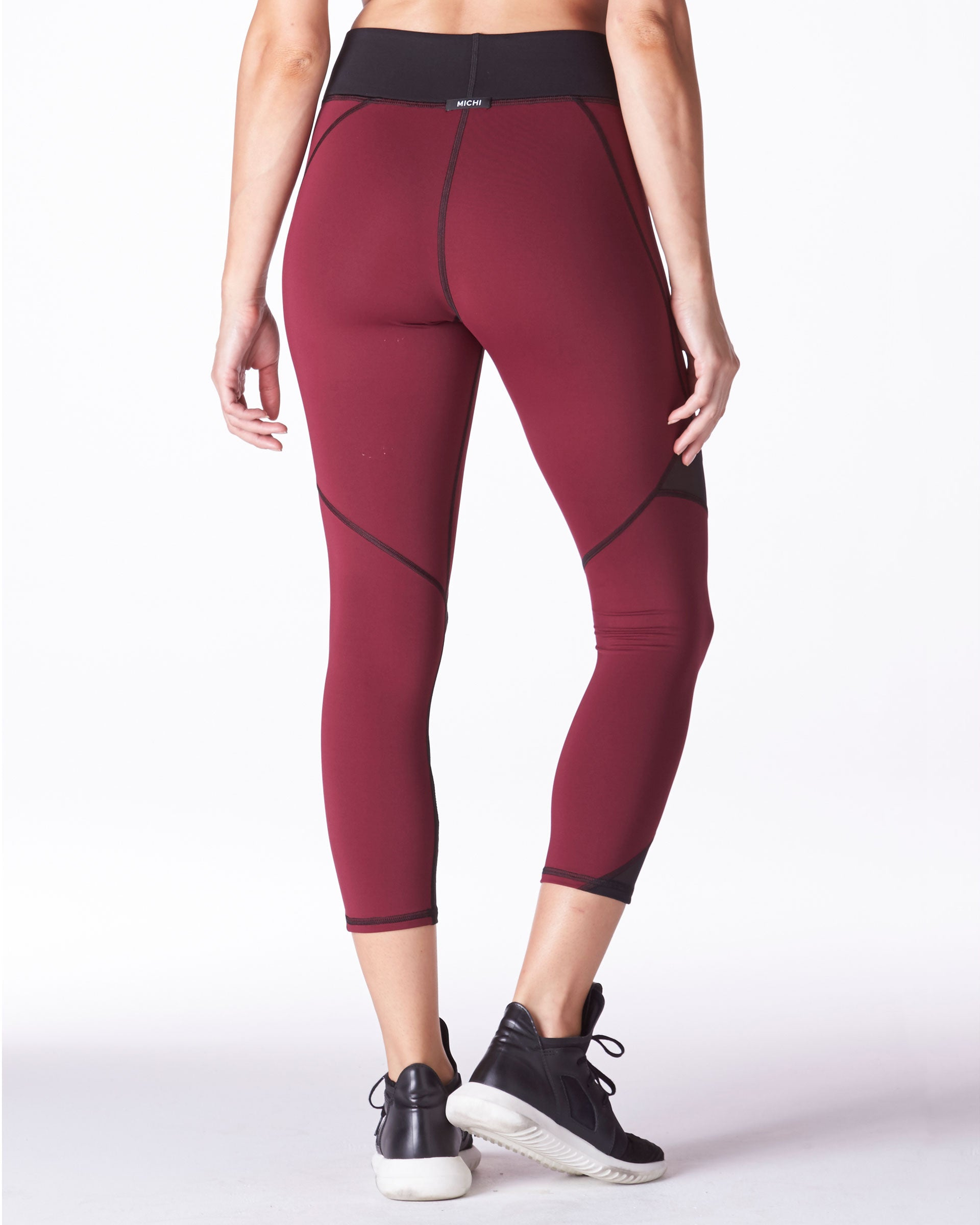 Radiate Crop Legging - Shiraz