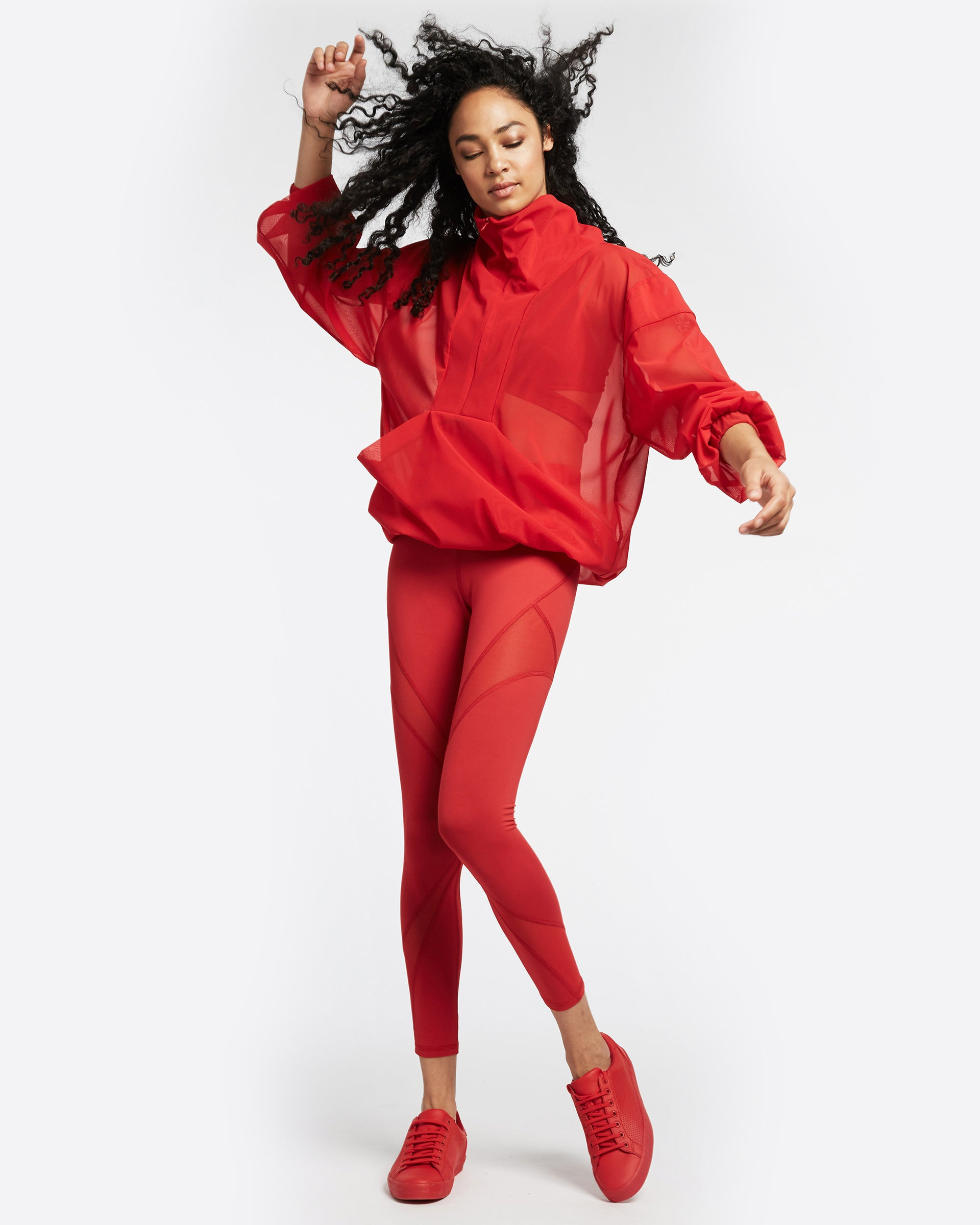 Stratosphere Pullover - Fire Red