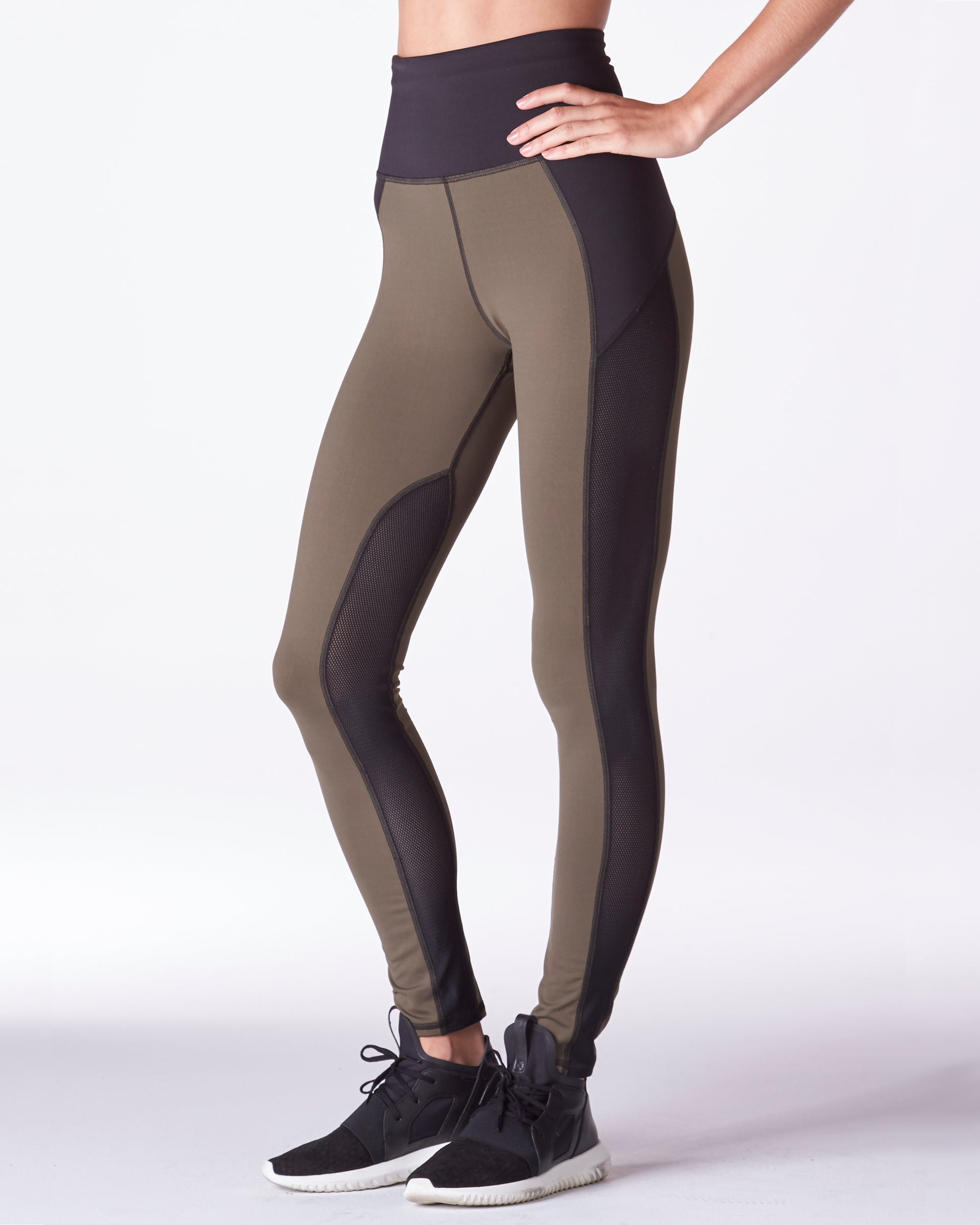 Summit High Waisted Legging - Olive