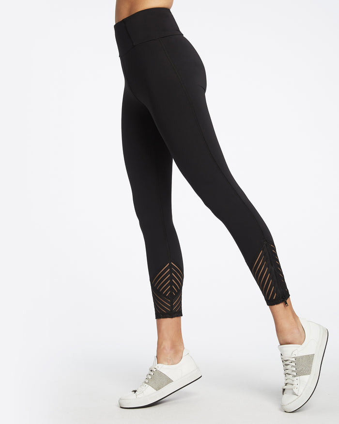 Tectonic High Waisted Legging - Black