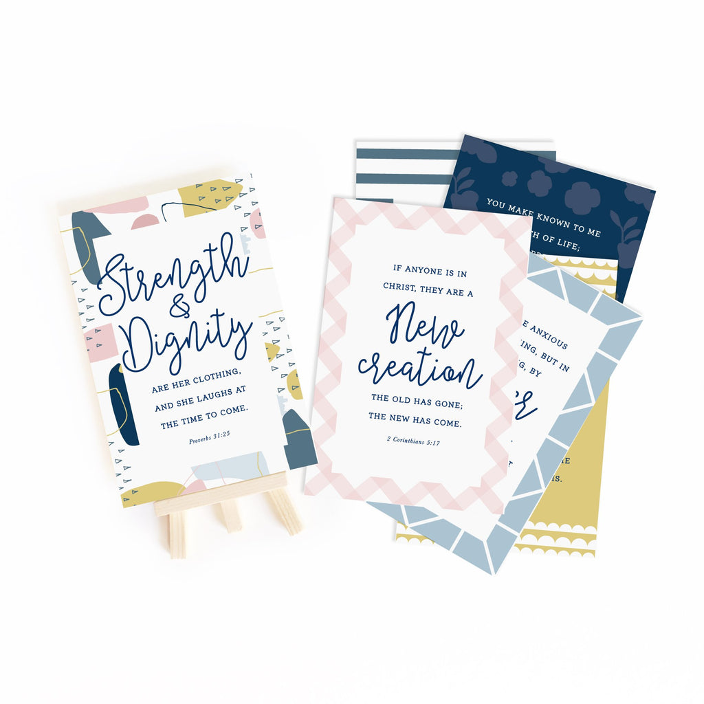 New Beginnings Scripture Gospel Truth Cards - Juliet Rose Boutique