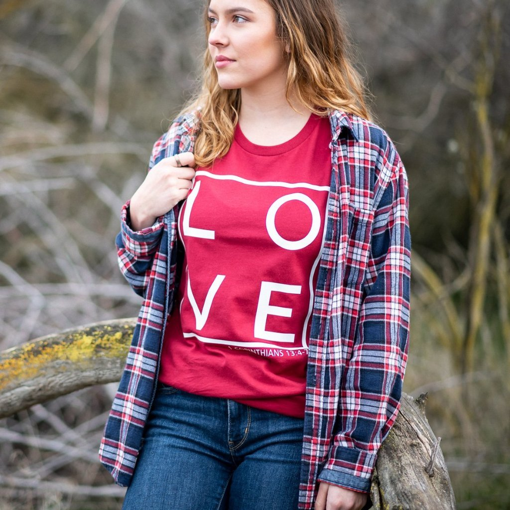 Christian Love Tee - Juliet Rose Boutique