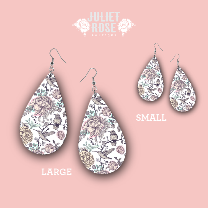 Kiss of Spring Drop Earrings - Juliet Rose Boutique