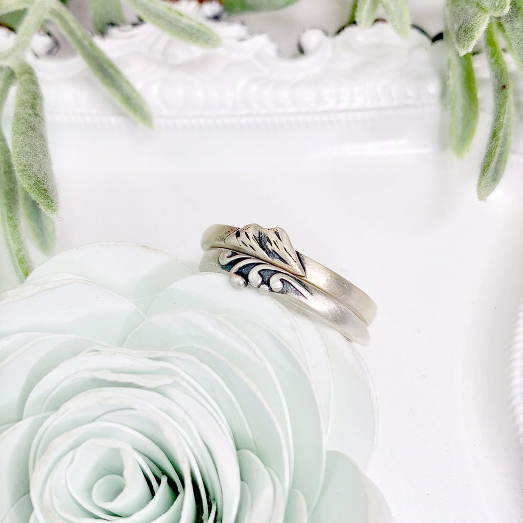 God is Greater Than the Highs and Lows Stacking Ring - Juliet Rose Boutique