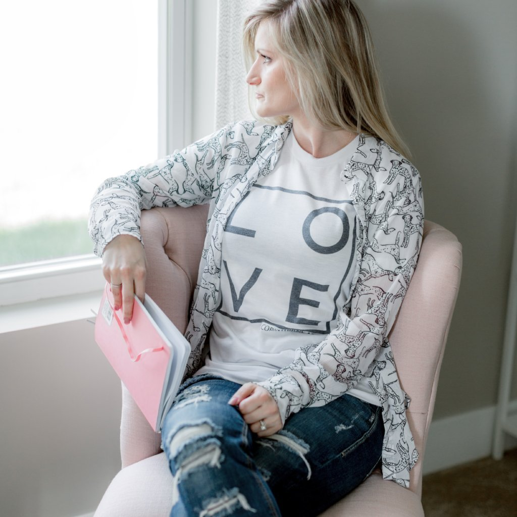 Love Tee - Juliet Rose Boutique