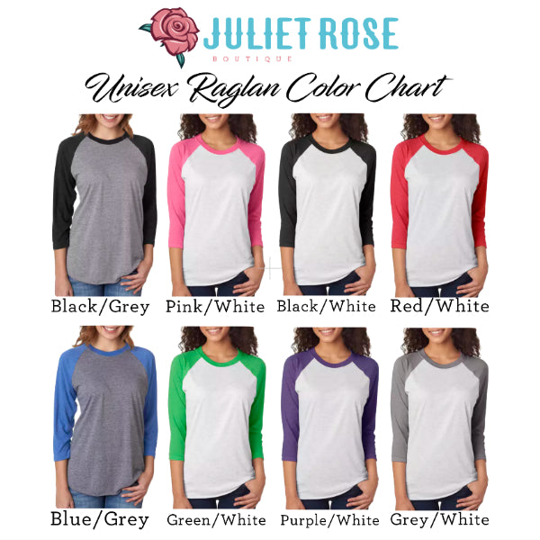 It's the Most Wonderful Time of Year Christmas Raglan - Juliet Rose Boutique
