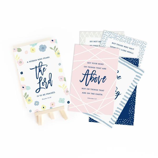 Growing Faith Gospel Truth Scripture Cards - Juliet Rose Boutique