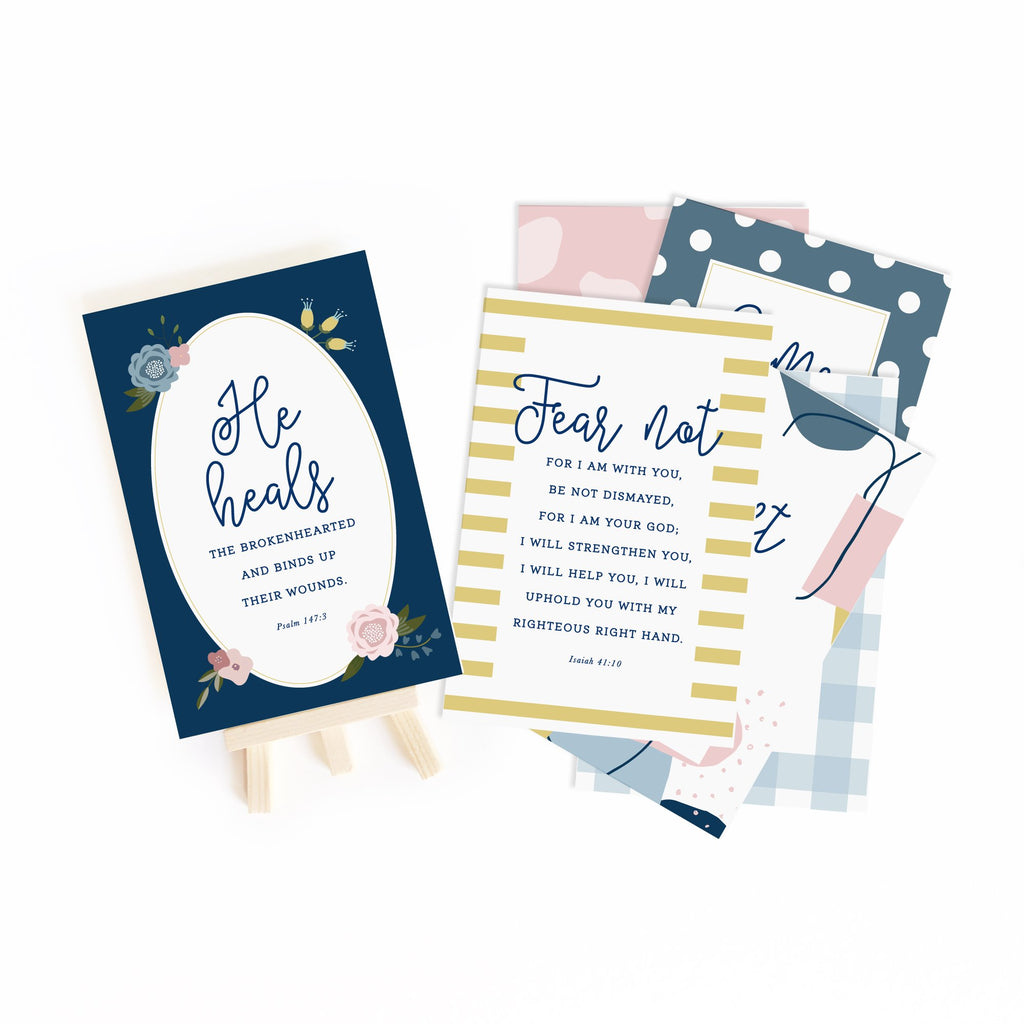 Hurting Hearts Gospel Truth Scripture Cards - Juliet Rose Boutique