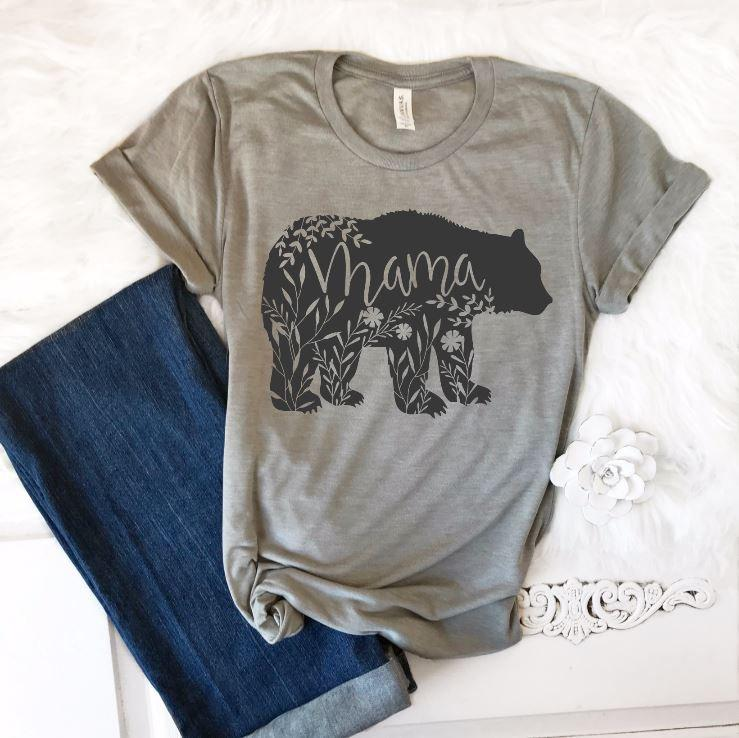 Mama Bear Tee - Juliet Rose Boutique