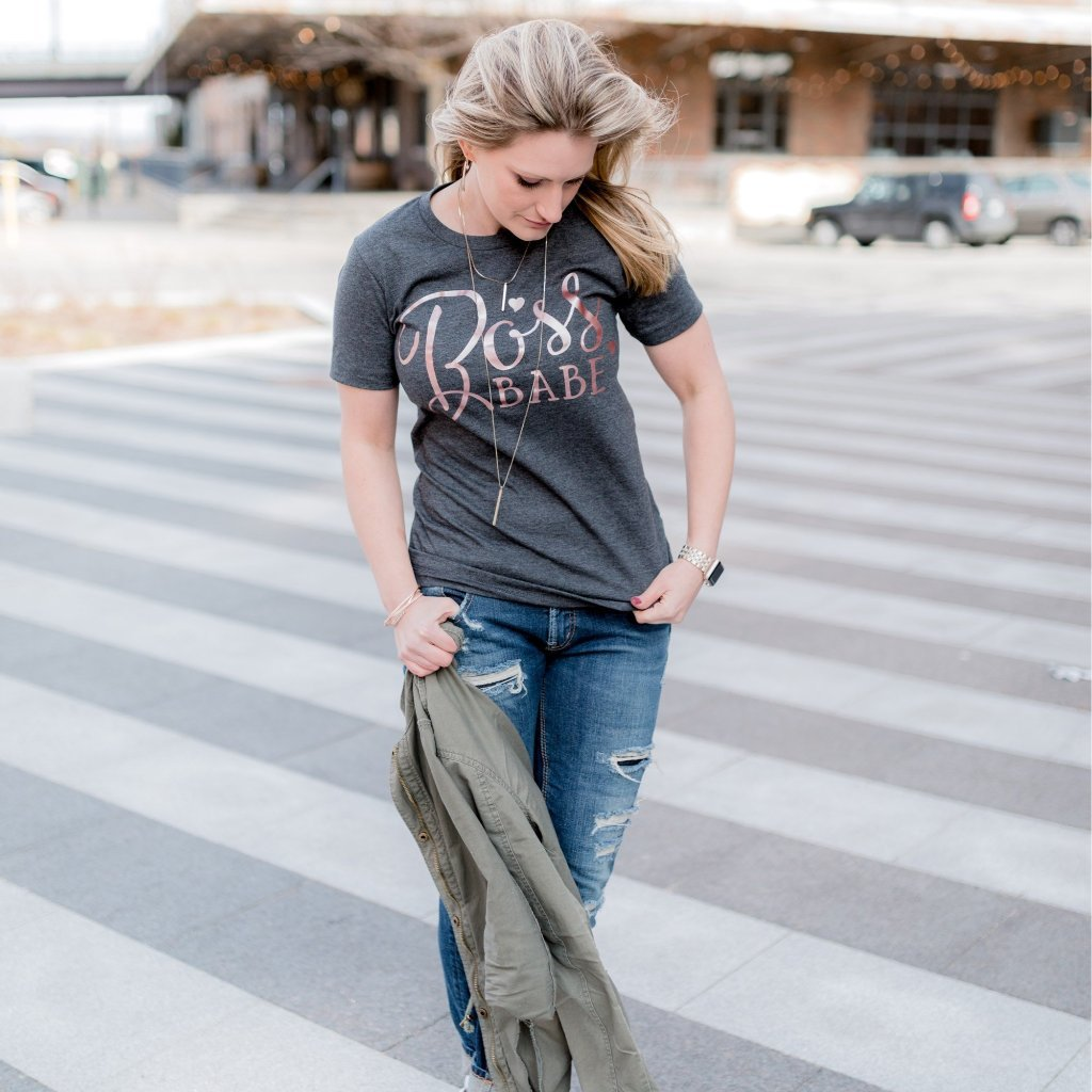Boss Babe Tee - Juliet Rose Boutique