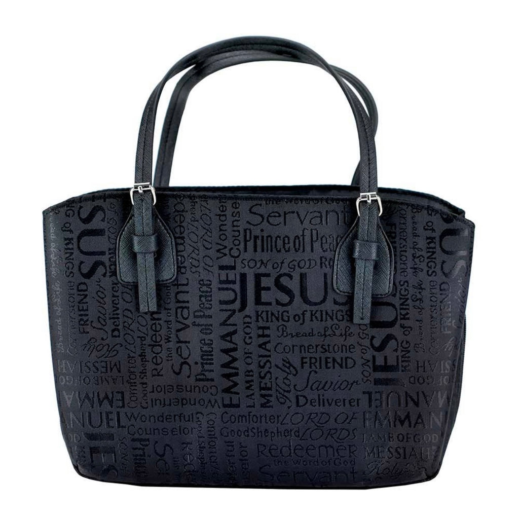 Names of Jesus Wedge Bible Cover XL - Juliet Rose Boutique