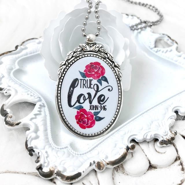 True Love Christian Necklace - Juliet Rose Boutique