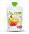 Achieve® - Banana, Strawberry & Yogurt - Box of 5 Pouches