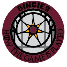 "Bingies Series 1 ""How the Game is Played"" 3-inch sticker"