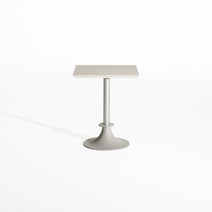 LORD YI Square Table Aluminum Base by Philippe Starck for Driade