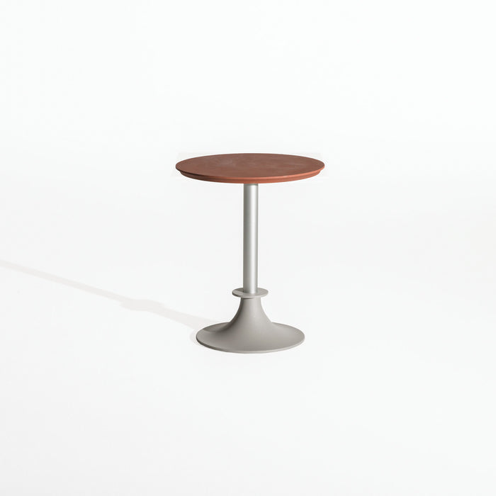 LORD YI Round Table Aluminum Base by Philippe Starck for Driade