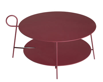 CARMINA Low Round Table by L+R Palomba for Driade - DUPLEX DESIGN
