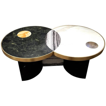SUN AND MOON Coffee Table by Lara Bohinc