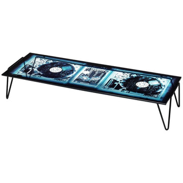 XRAYDIO 2 DISC Glass Low Table by Moroso for Diesel Living