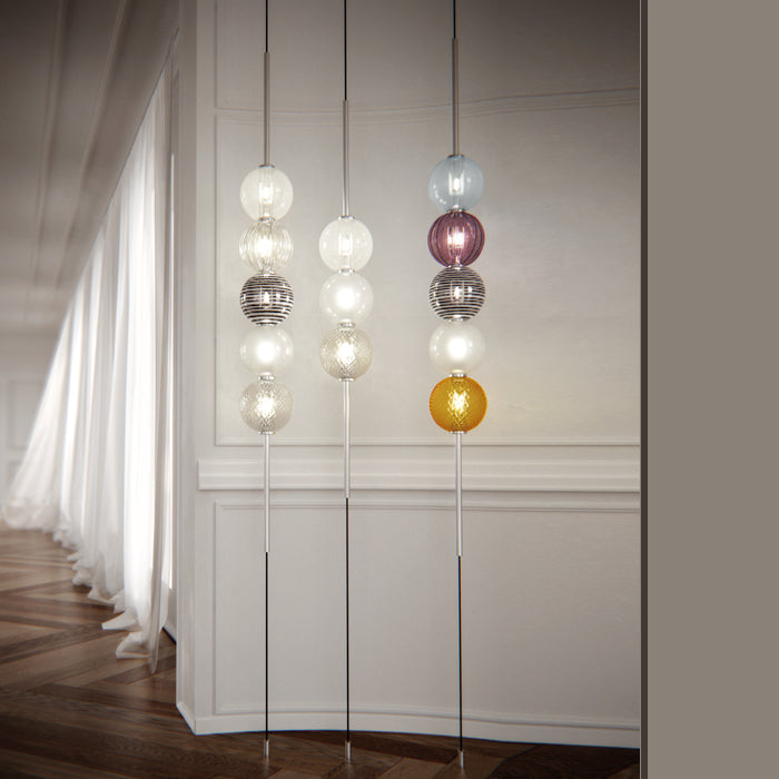 ABACO Suspension Lamp by Monica Guggisberg and Philip Baldwin for Venini - DUPLEX DESIGN