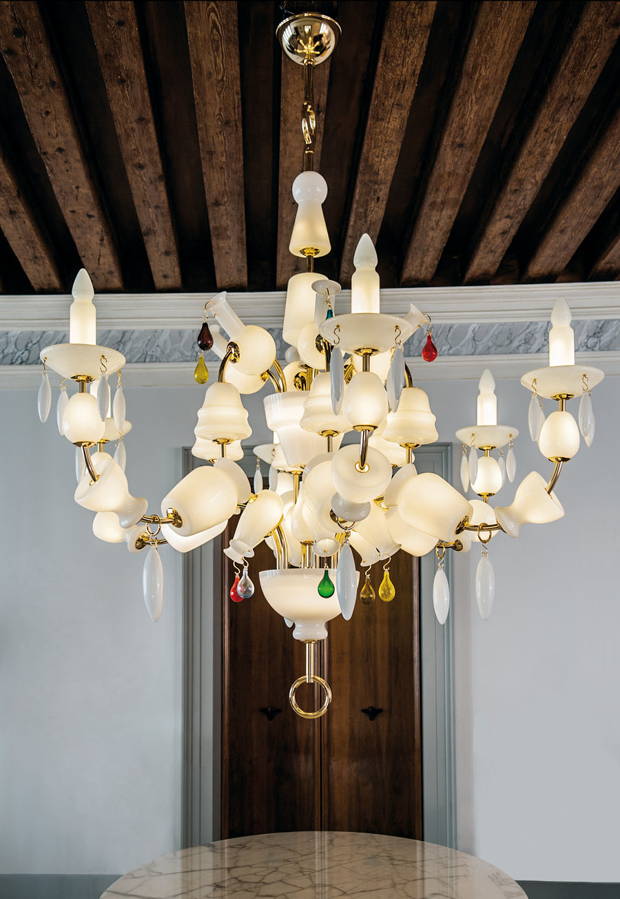 ARNOLFINI Chandelier by Studio Job for Venini
