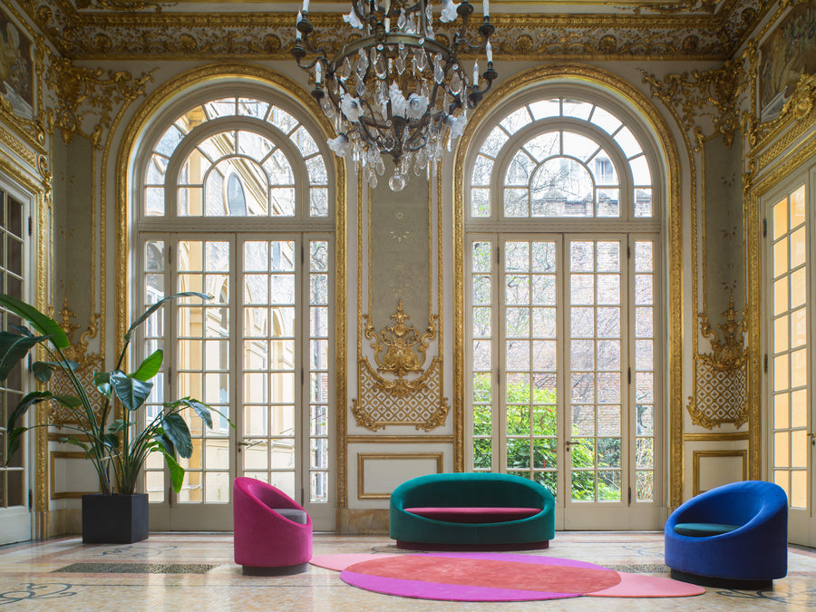 ALL AROUND Armchair by Pierre Gonalons for Paradisoterrestre - DUPLEX DESIGN