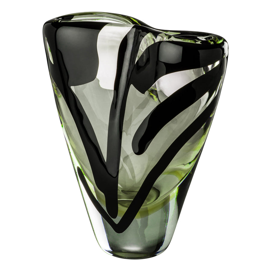 BLACK BELT OTTO Glass Vase by Peter Marino for Venini - DUPLEX DESIGN