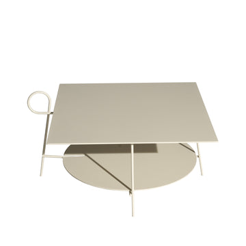 CARMINA Low Square Table by L+R Palomba for Driade - DUPLEX DESIGN
