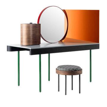 CHANDLO Dressing Table Set by Doshi Levien for BD Barcelona - DUPLEX DESIGN