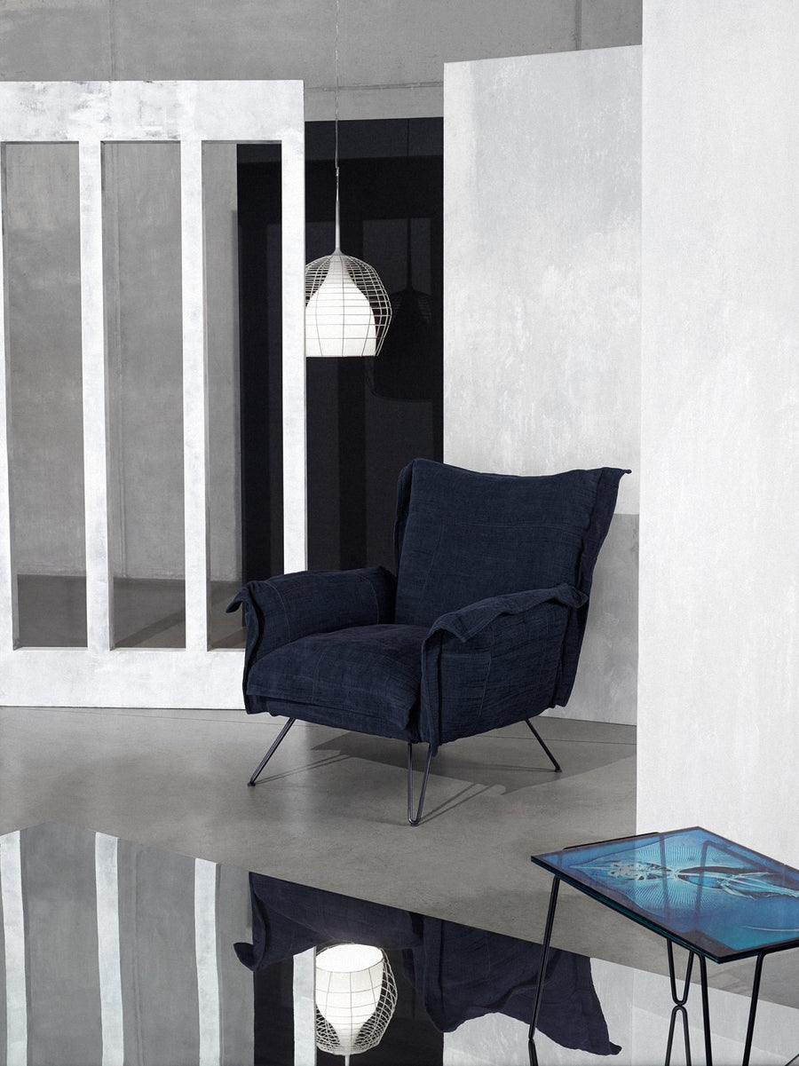 CLOUDSCAPE Armchair with Steel Frame by Moroso for Diesel Living - DUPLEX DESIGN