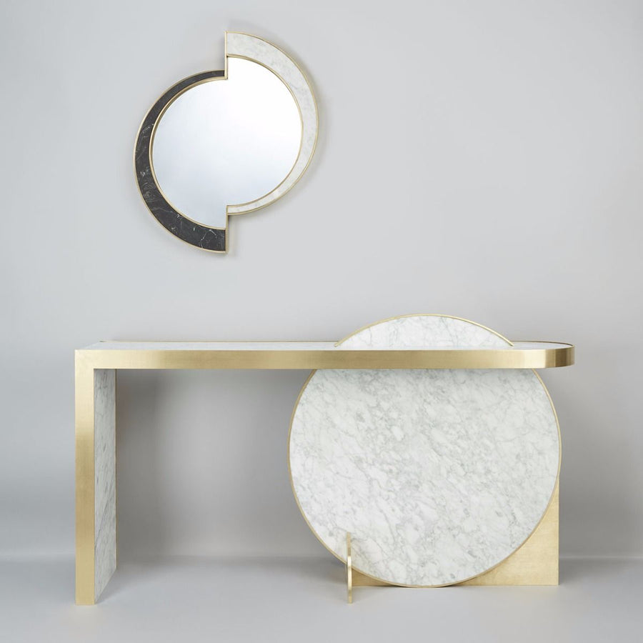 COLLISION Console Table by Lara Bohinc - DUPLEX DESIGN