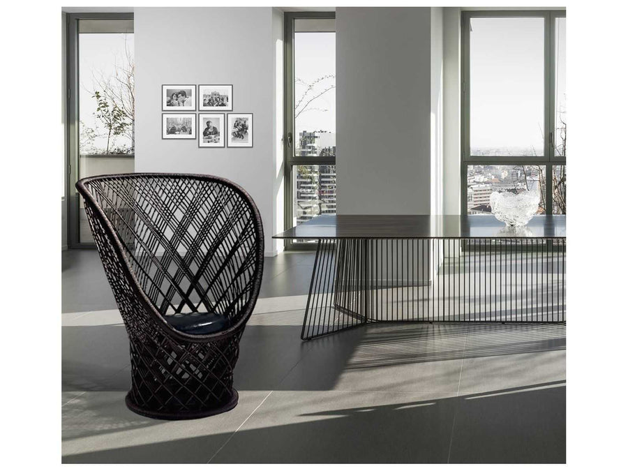 PAVO REAL Armchair by Patricia Urquiola for Driade - DUPLEX DESIGN