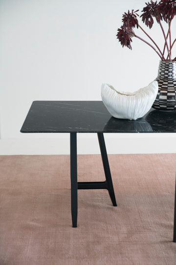EASEL Table with Marble Top by L+R Palomba for Driade