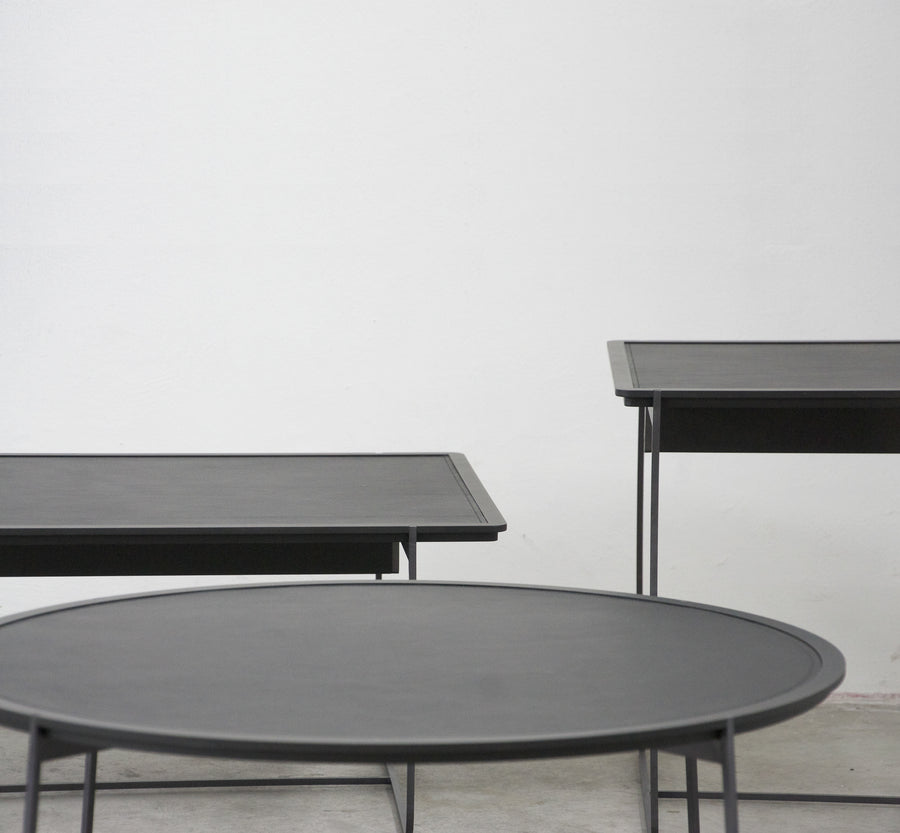 CUVÉE Low Side and Coffee Tables by Stephane Lebrun for Dessie' - DUPLEX DESIGN