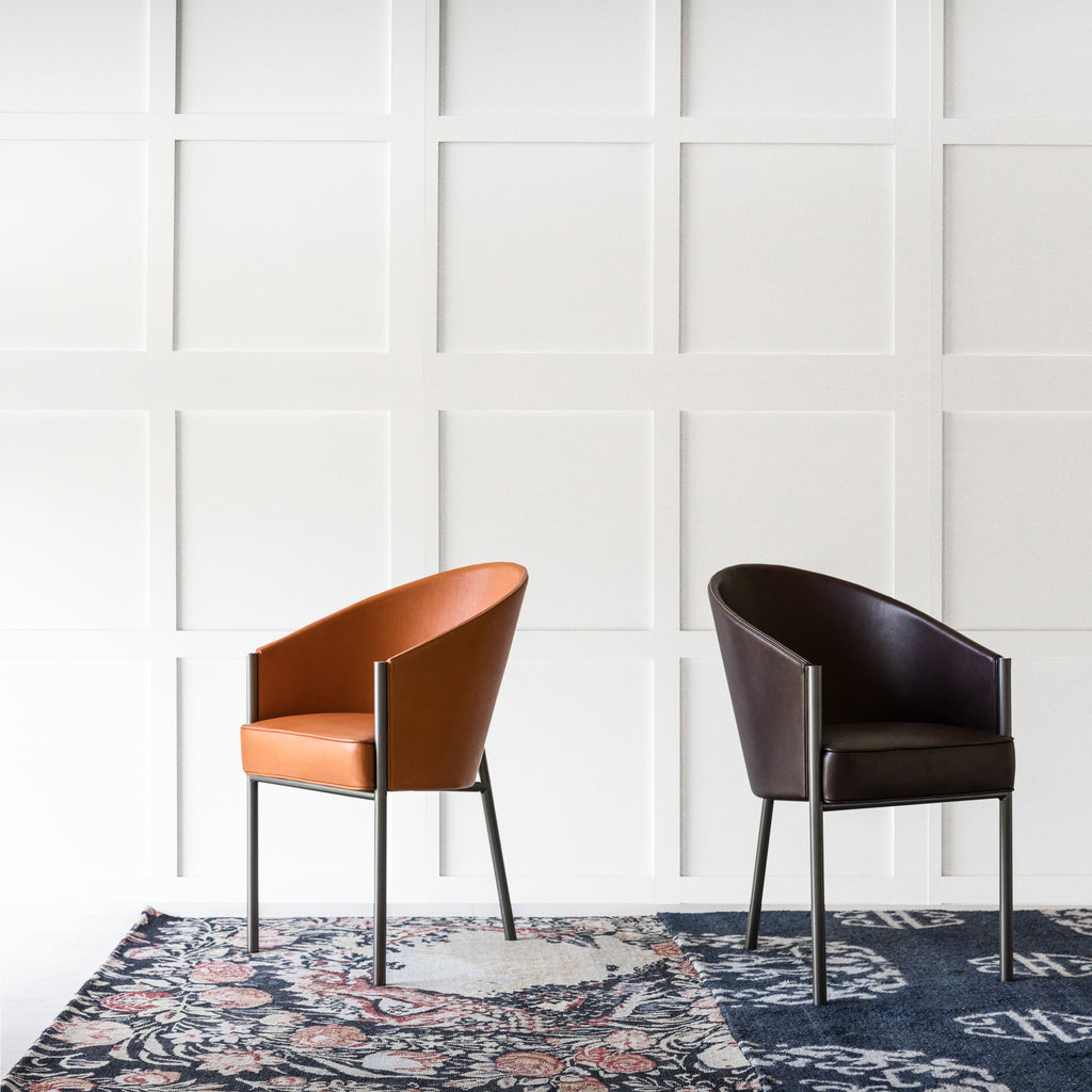 COSTES Leather Armchair by Philippe Starck for Driade