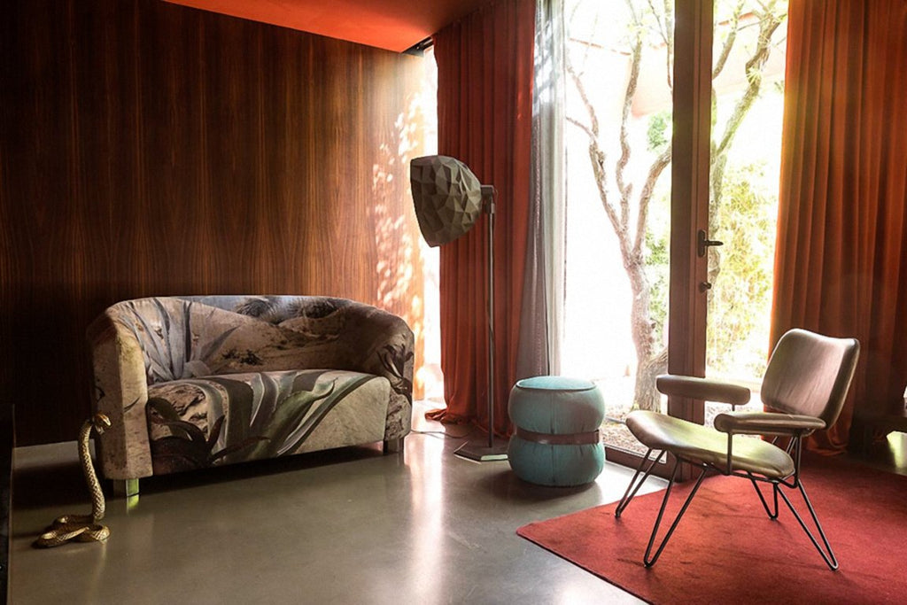 DECOFUTURA Small Two-Seat Sofa by Moroso for Diesel Living - DUPLEX DESIGN