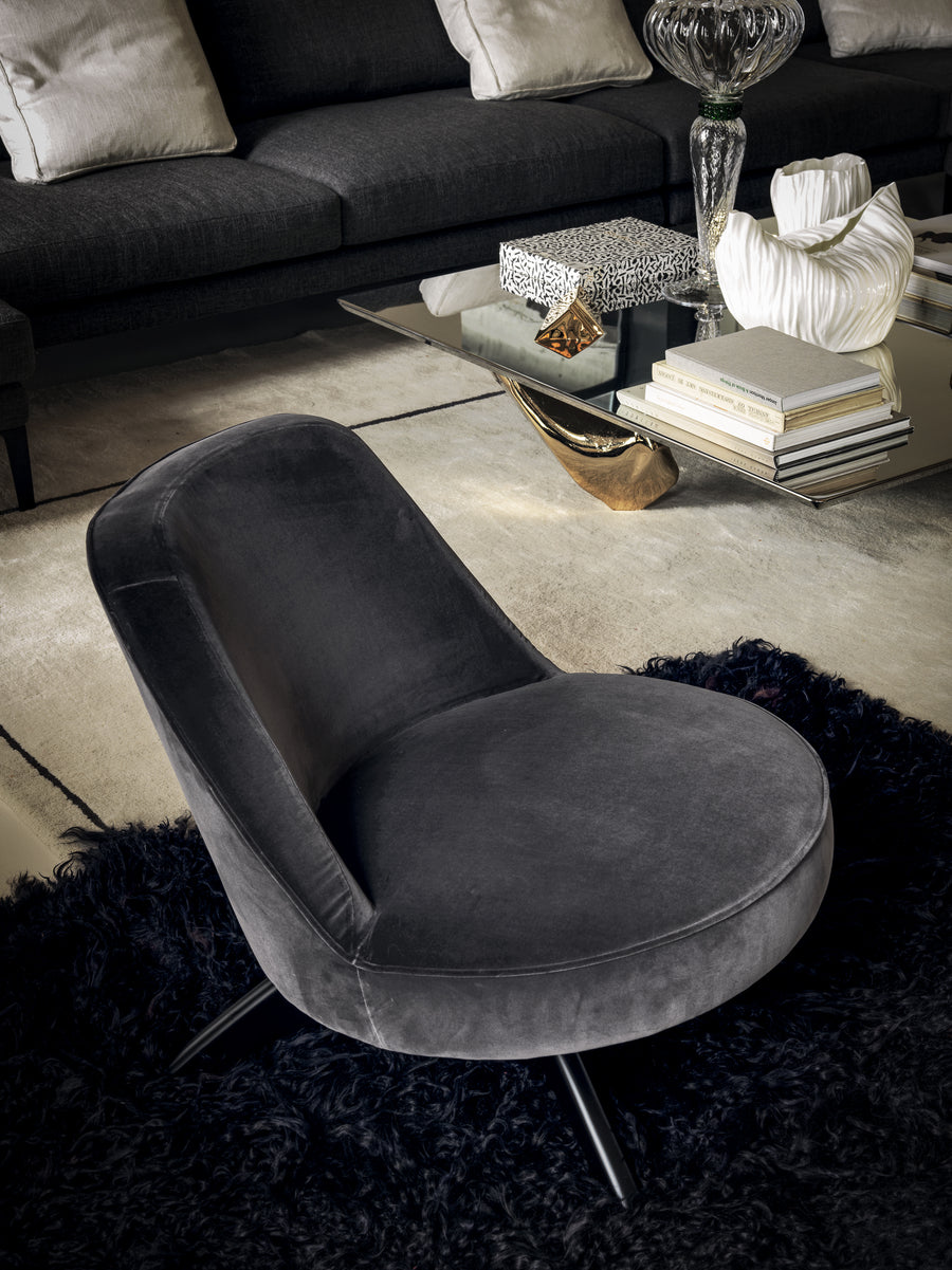 S. MARCO LOUNGE Low Chair by Matteo Thun and Antonio Rodriguez for Driade