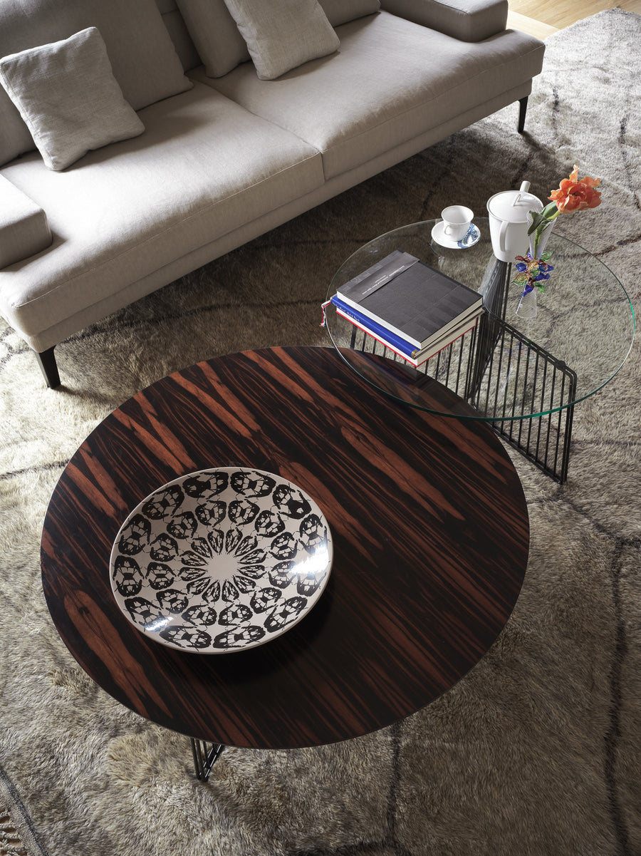 ANAPO Small Round Coffee Table by Gordon Guillaumier for Driade - DUPLEX DESIGN