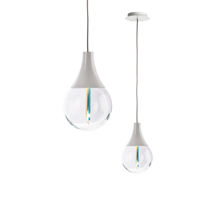 EDI SOSPENSIONE Suspension Lamp by Alberto Biagetti for Venini