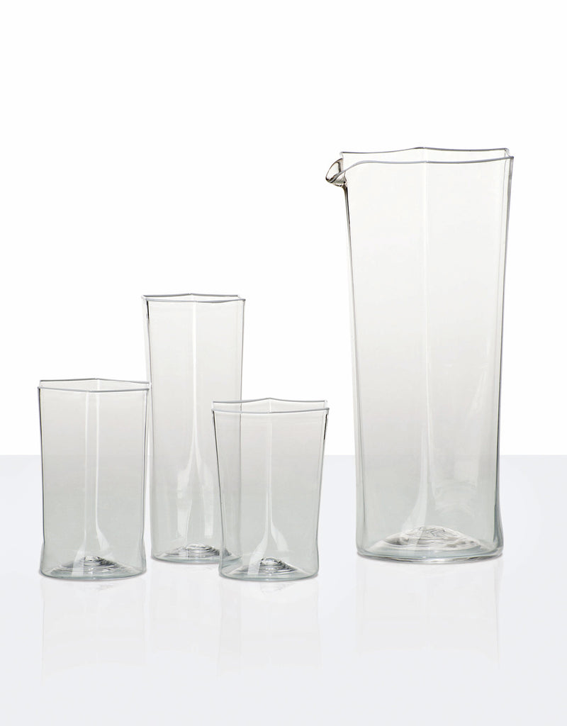 ESAGONALE Glass Collection by Carlo Scarpa for Venini - DUPLEX DESIGN