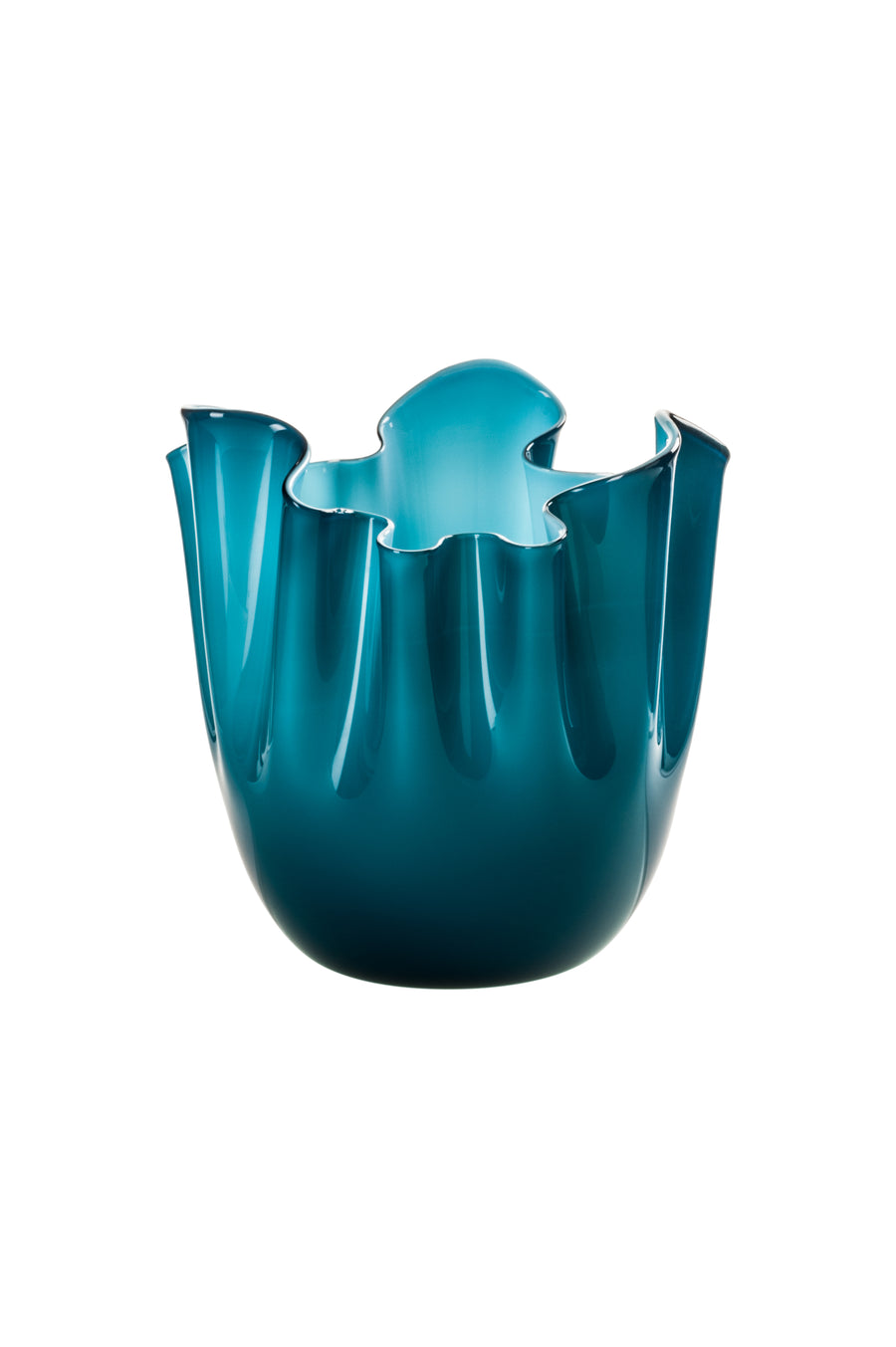 FAZZOLETTO Glass Vase by Fulvio Bianconi and Paolo Venini for Venini - DUPLEX DESIGN