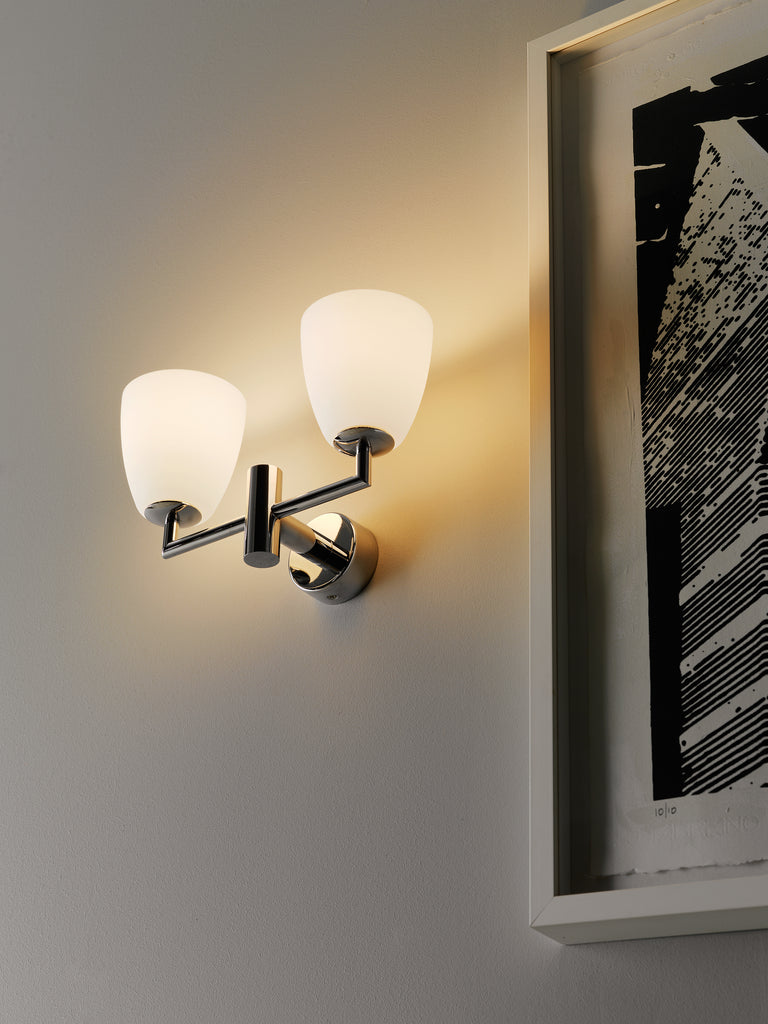 006/2 Wall Lamp by Fontana Arte - DUPLEX DESIGN