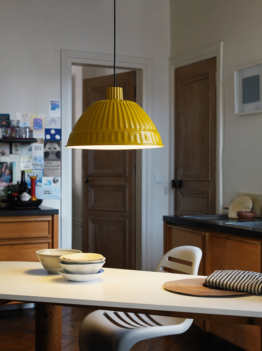CLOCHE Suspension Lamp by Fontana Arte - DUPLEX DESIGN